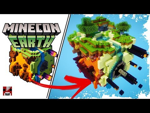 Let's Build MINECON EARTH - (WORLD DOWNLOAD)
