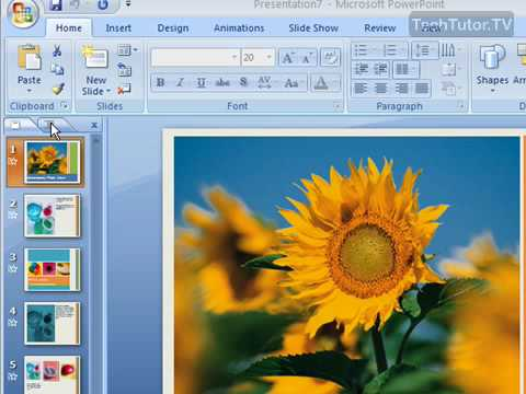 Use Outline View in PowerPoint 2007