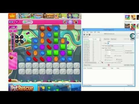 Hackear Candy Crush con Cheat Engine 6.1