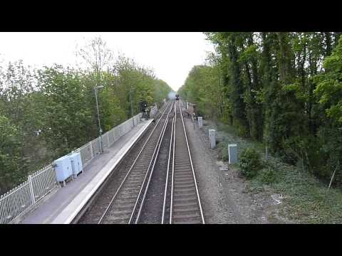 London to Paris Ferry Service Steam Train South Godstone 9 May 2013