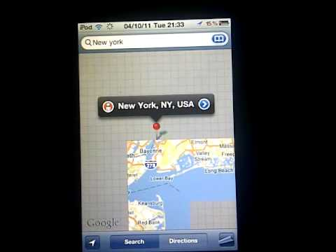 How To Get Google Street View On iphone/ipod touch/ipad