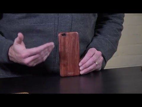 Crafted Slim Wood iPhone 6 Case | Woodline Case by Pad & Quill Review