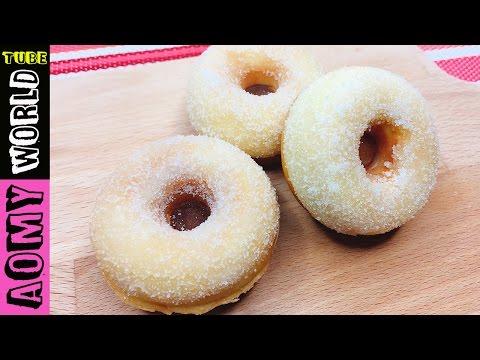 Sugar donut recipe   Mini Donut Maker   AOMYWORLD tube