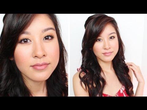 2 in 1 Summer Makeup & Hair Tutorial!