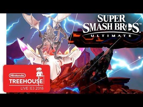 Super Smash Bros. Ultimate Gameplay Pt. 3 - Nintendo Treehouse: Live | E3 2018