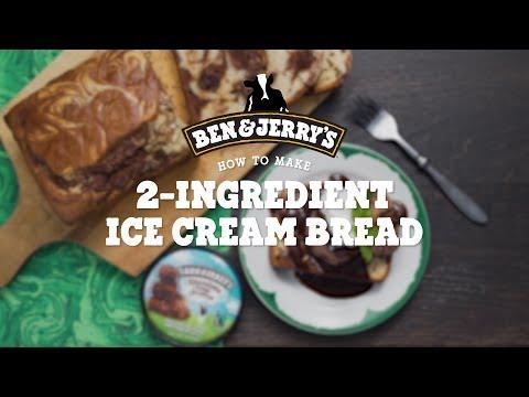 2-Ingredient Ice Cream Bread | Ben & Jerry's