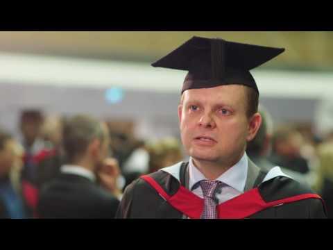 Online Learning Psychology MSc graduate, Richard Moore