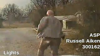 Dashcam Captures Arkansas Trooper Being Hit by Another Trooper