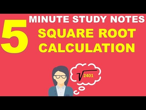 Shortcuts to Find Square Roots in IBPS/SSC CGL Exam!