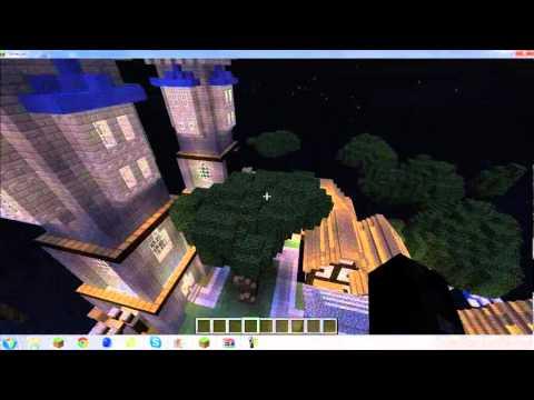 Minecraft map review- Big Medival City