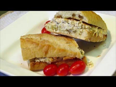 Tuna Melt Sandwich - How to make a Hot Tuna Sandwich