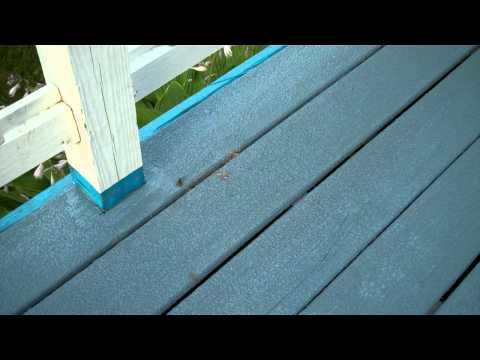 Wasps under deck