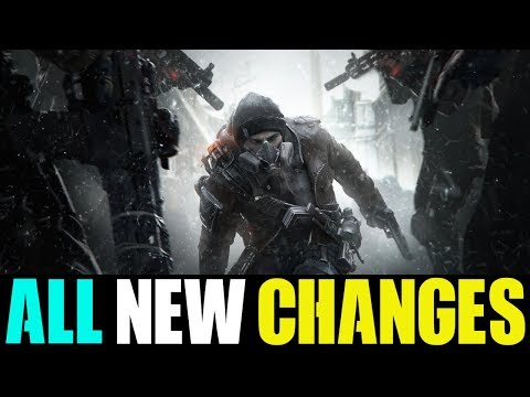 EVERYTHING YOU NEED TO KNOW ABOUT PATCH 1.8.1 + NEW CHANGES... (THE DIVISION)