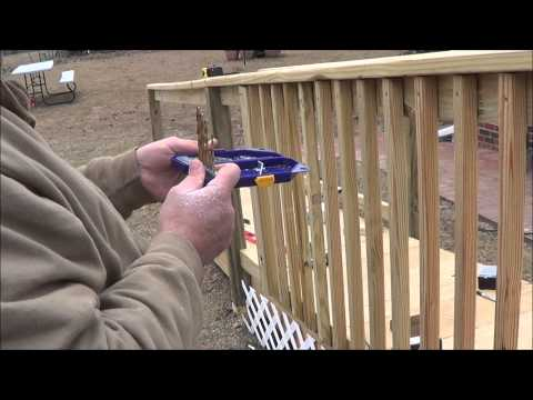 Building Handicapped ramp for mom
