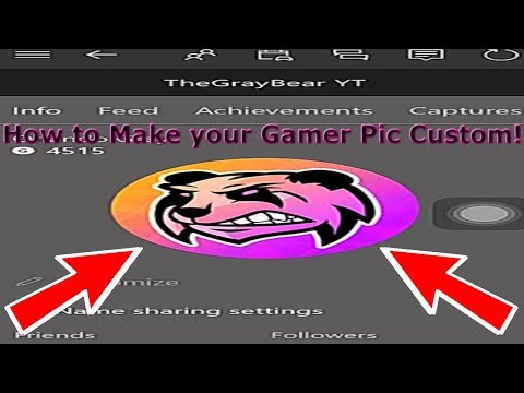 How to Add a Custom Gamer Pic on Xbox ONE (Very Easy)