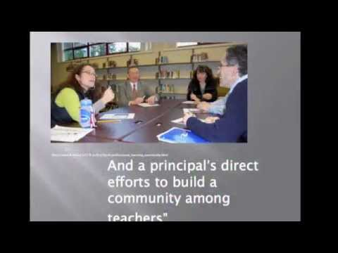 Building and Sustaining School Culture