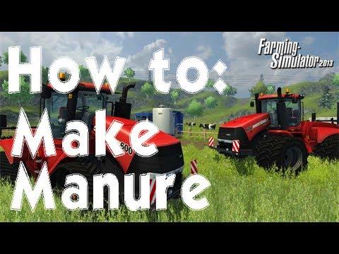 Farming Simulator 2013 How to: Make Manure