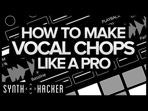 How To Make Vocal Chops Like ODESZA / Porter Robinson / Madeon (Ableton Tutorial)