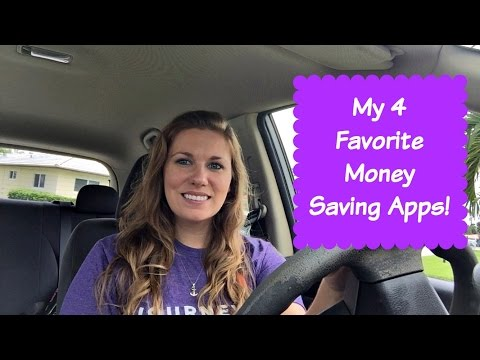My Favorite Money Saving/Earning Apps for iPhone and Android!