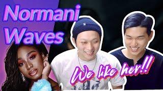 K-pop Artist Reaction] Normani - Waves (feat. 6LACK)