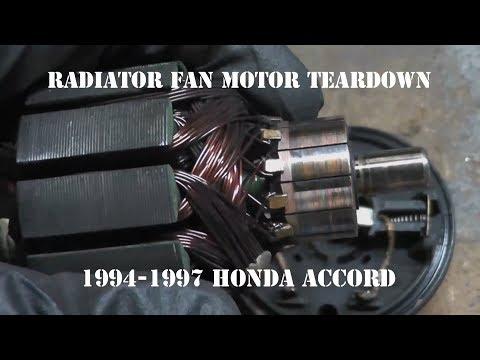 Radiator Cooling Fan Motor Teardown