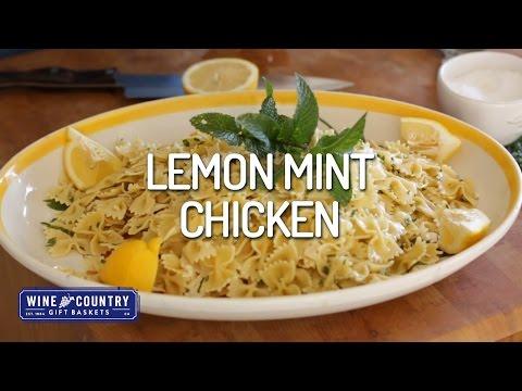 From Larry's Kitchen - Lemon Mint Chicken Pasta
