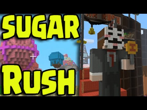 Minecraft PS3/PS4/Wii U - SUGAR RUSH HUNGER GAMES!