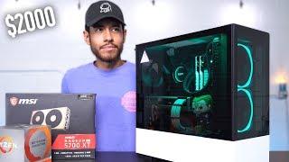 $2000 Gaming PC Build - RX 5700 XT Ryzen 9 3900X (w/ Benchmarks)