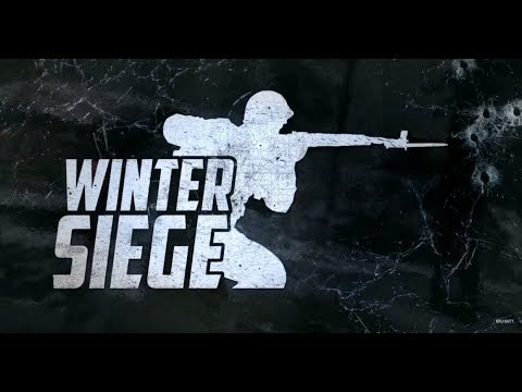 Call Of Duty WW2 Winter Siege Event NEW WEAPONS, Winter Headquarters and MORE! *COD WW2*
