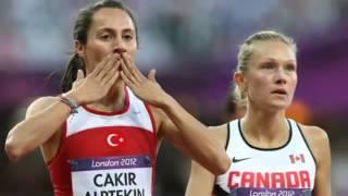 Asli Cakir Alptekin Wins Turkeys Womens 1500meters Gold Medal 2012 Lo