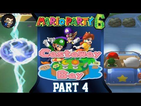 Mario Party 6 | Castaway Bay - Part 4/7