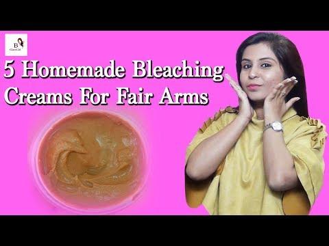 5 Homemade Bleaching Creams For Fair Arms     How to Bleach Arm or Body Hair at Home