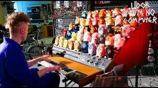 THE FURBY ORGAN, A MUSICAL INSTRUMENT MADE FROM FURBIES