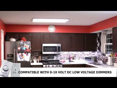 How to Install  LED Panel Light Fixture