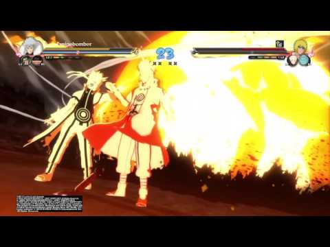 Naruto Ninja Storm 4   Online Team Battle #9