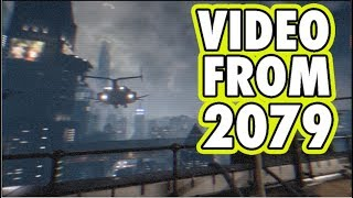 Time Traveler From 2079 Recorded Video Of A City In The Future