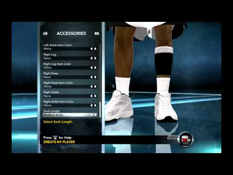 NBA 2k12 how to create michael jordan