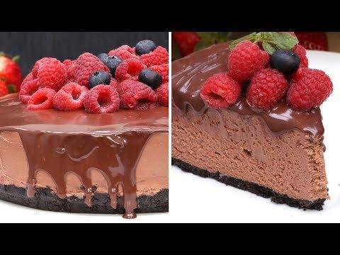 Triple Chocolate Cheesecake (No-Bake)
