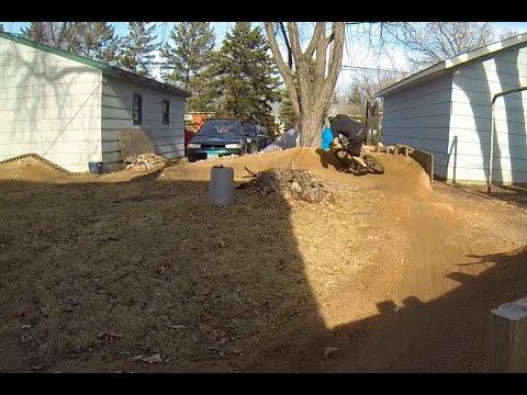 Bike Build N Pump Track Break In 2015
