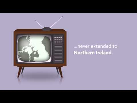 It's 2017, but in Northern Ireland, it's not yet 1967…