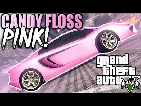 GTA 5 MODDED CREW COLOR - CANDY FLOSS PiNK  - CoreGamingPs4