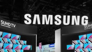 Samsung CES 2016 Booth Installation timelapse