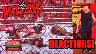 WWE Hell In A Cell 2018 Reactions - Brock Lesnar Returns - Huge Title Changes
