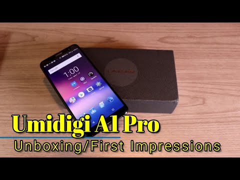 Umidigi A1 Pro - Unboxing and First Impressions