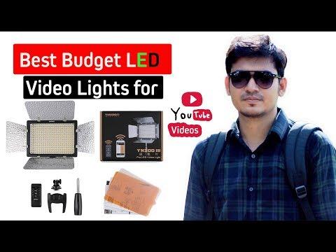 Best Budget Video Light YONGNUO YN300 III LED A to Z review