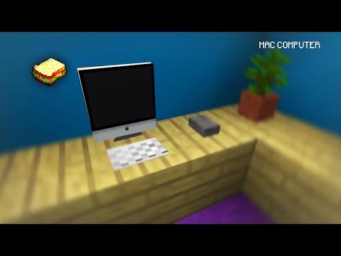 (☞ ͡◕ ͜ʖ ͡◕ )☞ How to make a Mac Computer | Minecraft