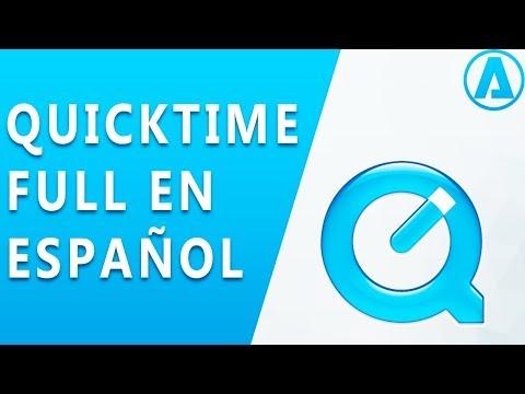Descargar |Quicktime 7 PRO Full En Español | Para Windows 10 (2018)