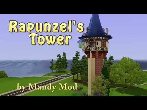 Rapunzel's Tower: A Sims 3 Speed Build