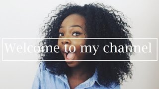 FIRST VIDEO!! INTRODUCTION TO MY CHANNEL & ME
