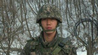 LIFE AS A SOUTH KOREAN BORDER GUARD - BBC NEWS